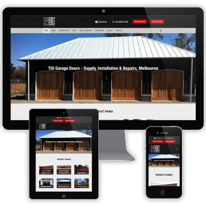 Custom Made Garage Doors by WebLocals