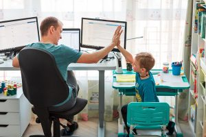 Read more about the article 5 HANDY TIPS FOR WORKING FROM HOME!